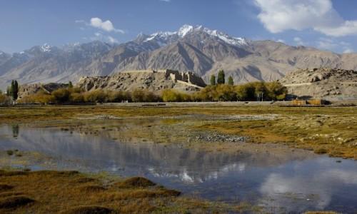 CHINY / Xinjiang / Tashkurgan / Twierdza w Tashkurgan