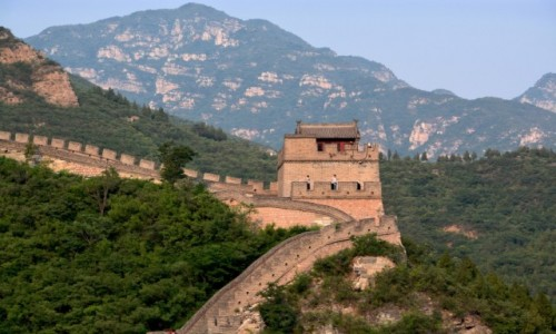Zdjecie CHINY / Pekin / Pekin / Mur