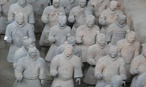 Zdjecie CHINY / Lintong / Xian / Terakotowa Armi