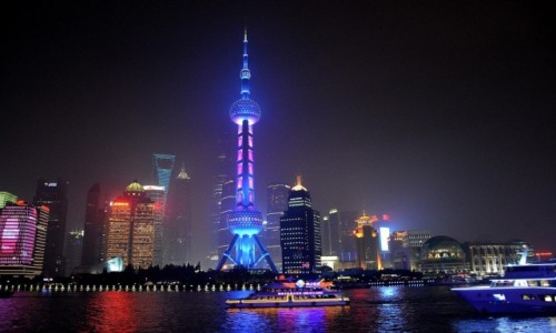 Zdjecie CHINY / Szanghaj /  Pudong  /  Pudong