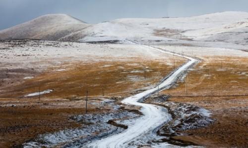 Zdjecie CHINY / Syczuan / w pobliżu Sichuan-Tibet Highway / Mleczna droga
