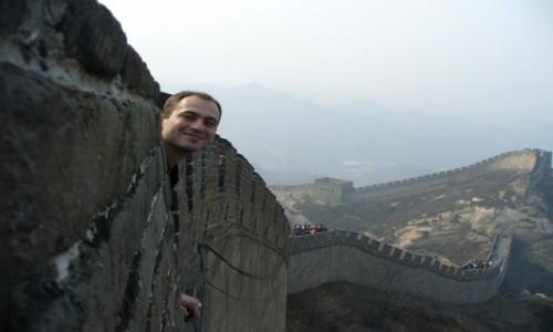 Zdjecie CHINY / Pekin / Pekin / Na Wielkim Murz
