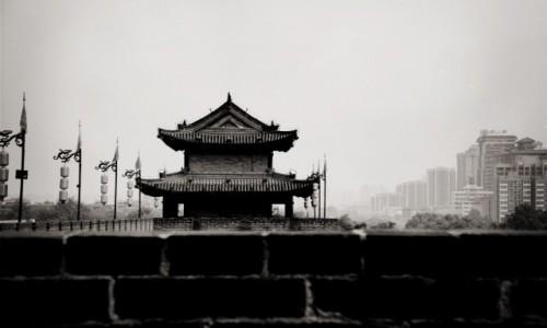 CHINY / - / Xian / kiedyś vs teraz