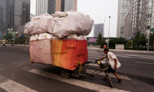 Zdjecie CHINY / Pekin / Pekin / W świecie finan