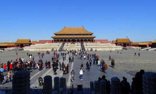 Zdjęcie CHINY / Pekin / Zakazane Miasto /