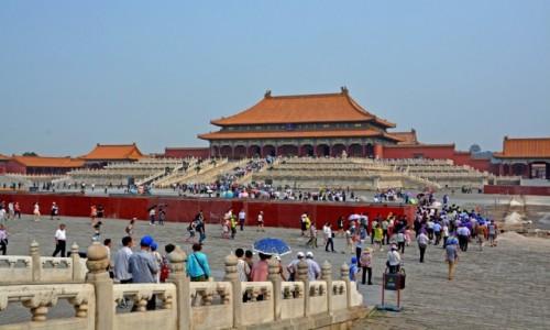 Zdjecie CHINY / - / Pekin / Zakazane Miasto