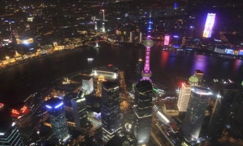 Zdjecie CHINY / Shanghai / Shanghai Tower / Shanghaj