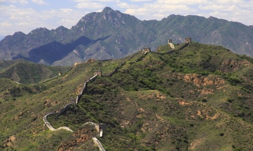 Zdjecie CHINY / Sematai / Sematai / Wielki Mur