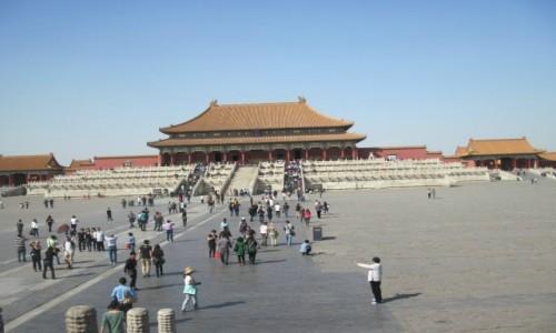 Zdjęcie CHINY / - / Pekin / Zakazane Miasto w Pekinie