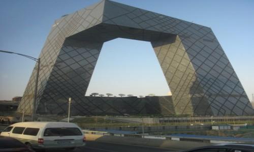 Zdjęcie CHINY / - / Pekin / Siedziba Centralnej Telewizji Chińskiej