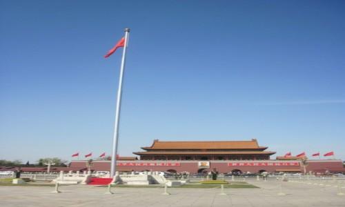 Zdjęcie CHINY / - / Pekin / Brama Niebiańskiego Spokoju