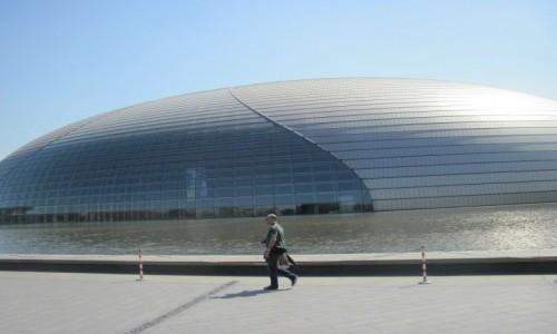 Zdjęcie CHINY / - / Pekin / Teatr Narodowy w Pekinie
