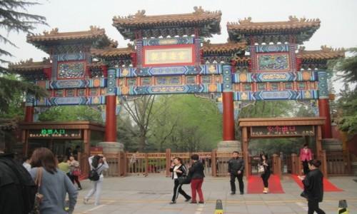 Zdjęcie CHINY / - / Pekin / Świątynia Harmonii i Pokoju