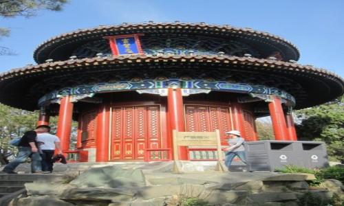 Zdjęcie CHINY / - / Pekin / Cesarski pawilon na Wzgórzu Węglowym w Pekinie