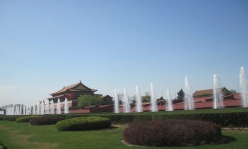 Zdjęcie CHINY / - / Pekin / Plac Niebiańskiego Spokoju - Tiananmen