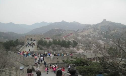 Zdjęcie CHINY / - / Wielki Mur Chiński / Wielki Mur Chiński  - 2400 kilometrowy wał obronny