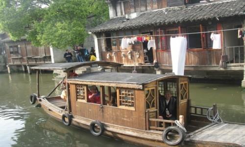 Zdjęcie CHINY / - / Wuzhen / Wuzhen- jedna z najpiękniejszych wiosek wodnych w Chinach, nazwana chińską Wenecją