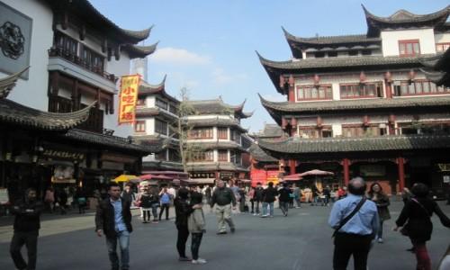 Zdjecie CHINY / - / Szanghaj / Stare Miasto Szanghaj