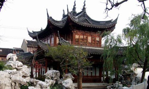 Zdjęcie CHINY / Szanghaj / Ogrody Yu / Ogród Yu