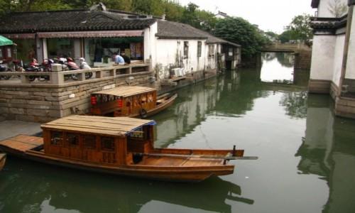 Zdjęcie CHINY / prowincja Jiangsu / Suzhou / kanały Suzhou