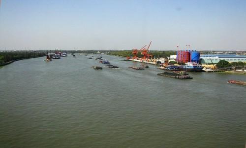 Zdjęcie CHINY / prowincja Jiangsu / okolice Suzhou / Wielki Kanał