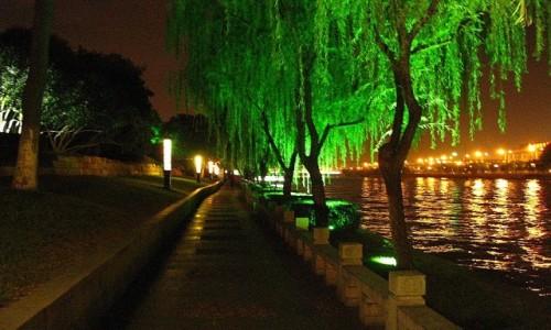 CHINY / prowincja Jiangsu / Suzhou / kanały Suzhou