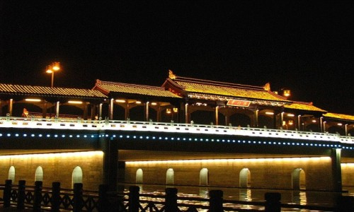 Zdjęcie CHINY / prowincja Jiangsu / Suzhou / mosty Suzhou
