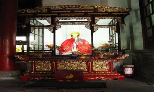 CHINY / prowincja Jiangsu / Suzhou / Świątynia Xuanmiao
