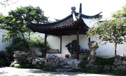Zdjęcie CHINY / prowincja Jiangsu / Suzhou / Ogród Mistrza Sieci