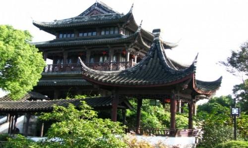 Zdjęcie CHINY / prowincja Jiangsu / Suzhou / Ogród Panmen