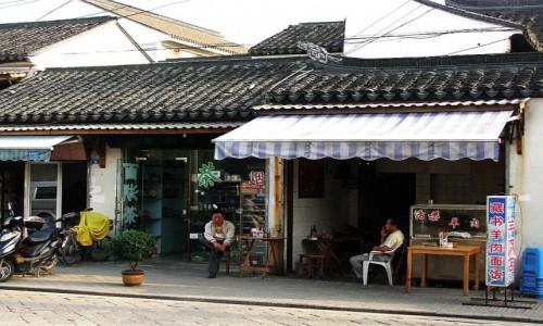 Zdjęcie CHINY / prowincja Jiangsu / Suzhou / ulice Suzhou