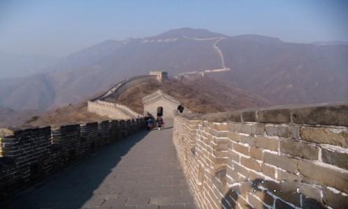 CHINY / Pekin / Mutianyu / Chiński Mur