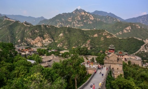 Zdjecie CHINY / - / okolice Pekinu / mur