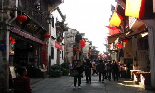 Zdjecie CHINY / prowincja Anhui / Tunxi / Ulica Stara