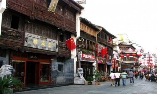 Zdjęcie CHINY / prowincja Anhui / Tunxi / Ulica Stara