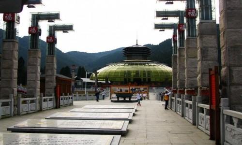 Zdjęcie CHINY / prowincja Jiangxi / Lu Shan / współczesna świątynia buddyjska