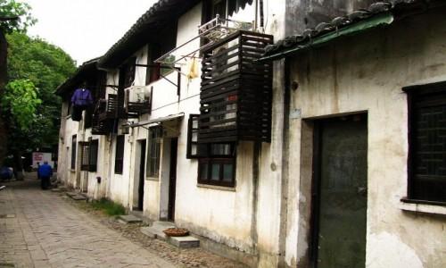Zdjęcie CHINY / prowincja Jiangsu / Tongli / uliczka na starym mieście