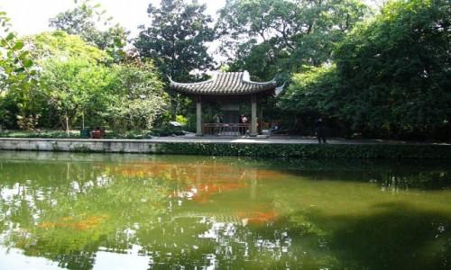 Zdjecie CHINY / prowincja Zhejiang / Hangzhou / Jezioro Zachodnie