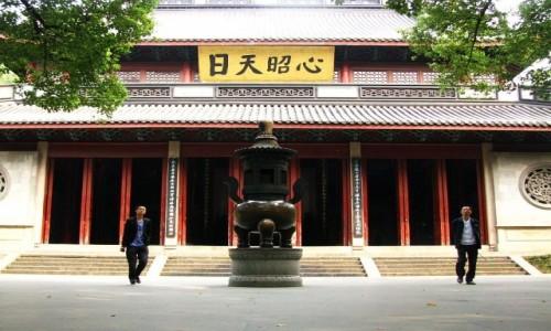Zdjecie CHINY / prowincja Zhejiang / Hangzhou / świątynia Generała Yue Fei