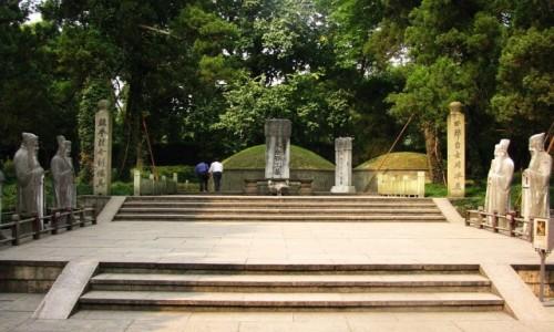 Zdjecie CHINY / prowincja Zhejiang / Hangzhou / Grobowiec generała Yue Fei