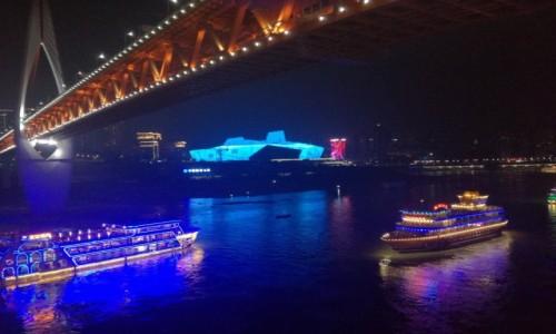 Zdjęcie CHINY / chongqing / City center / Chongqing