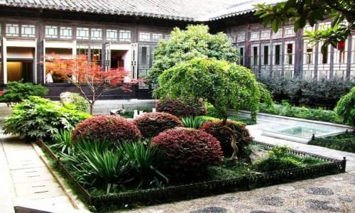 Zdjęcie CHINY / prowincja Jiangsu / Nankin / pałac prezydencki - ogrody