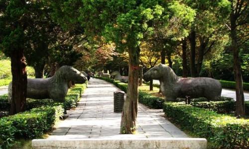 Zdjecie CHINY / prowincja Jiangsu / Nankin / Grobowiec cesarza Hongwu