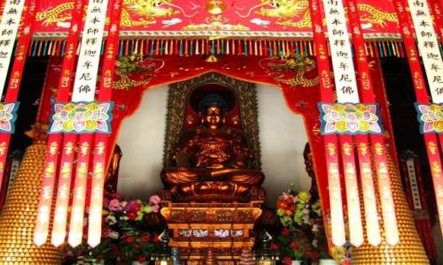 Zdjęcie CHINY / prowincja Jiangsu / Nankin / świątynia Linggu