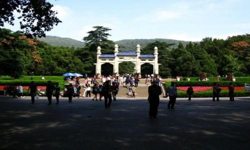 Zdjęcie CHINY / prowincja Jiangsu / Nankin / mauzoleum Sun Yat-Sena