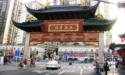 Zdjęcie CHINY / Szanghaj / Szanghaj / ulice Szanghaju