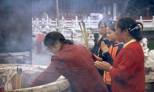 Zdjęcie CHINY / Yunan / Kunming / Świątynia w Kunming