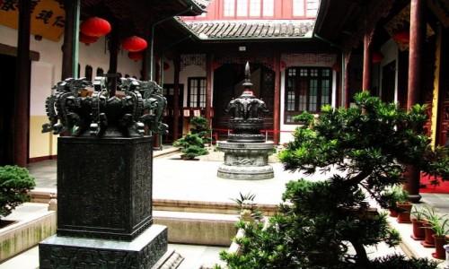 Zdjęcie CHINY / Szanghaj / Szanghaj / świątynia Nefrytowego Buddy
