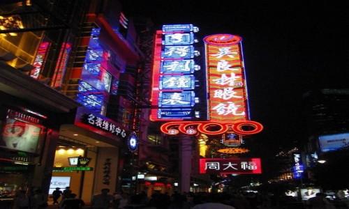 Zdjecie CHINY / Szanghaj / Szanghaj / Nanjing lu