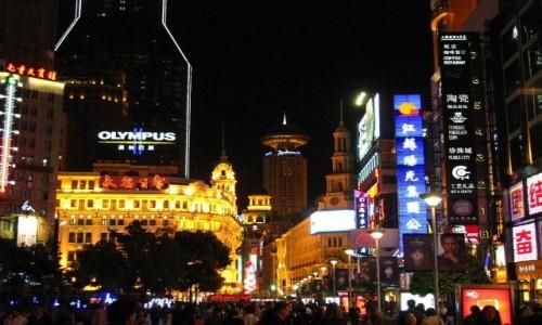 Zdjęcie CHINY / Szanghaj / Szanghaj / Nanjing lu